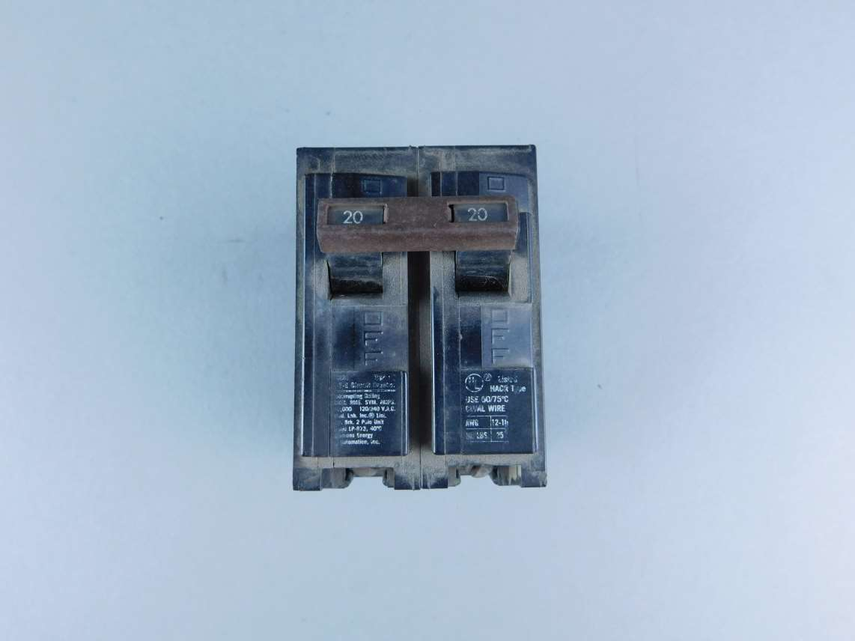 Simons 2-Pole 20 Amp Circuit Breaker LP873 – GPM Surplus