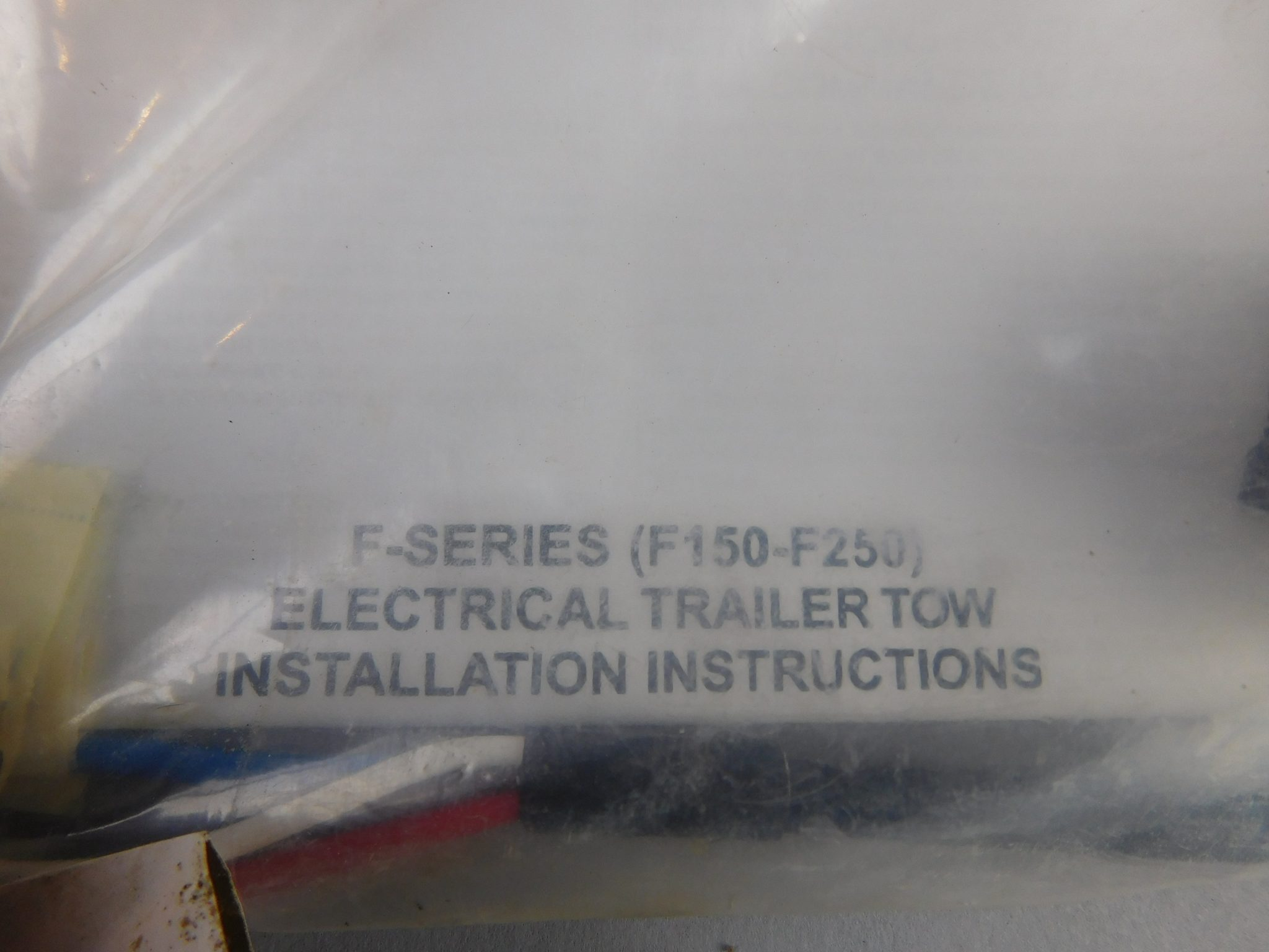 ford electrical trailer brake tow harness f150/f250 4l3t-15a416-1b
