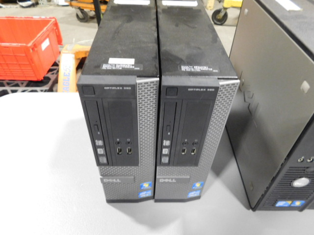 Dell Computer Lot Dell Optiplex 380 Intel Core Duo Optiplex 390 Intel Core  i3 Windows 7
