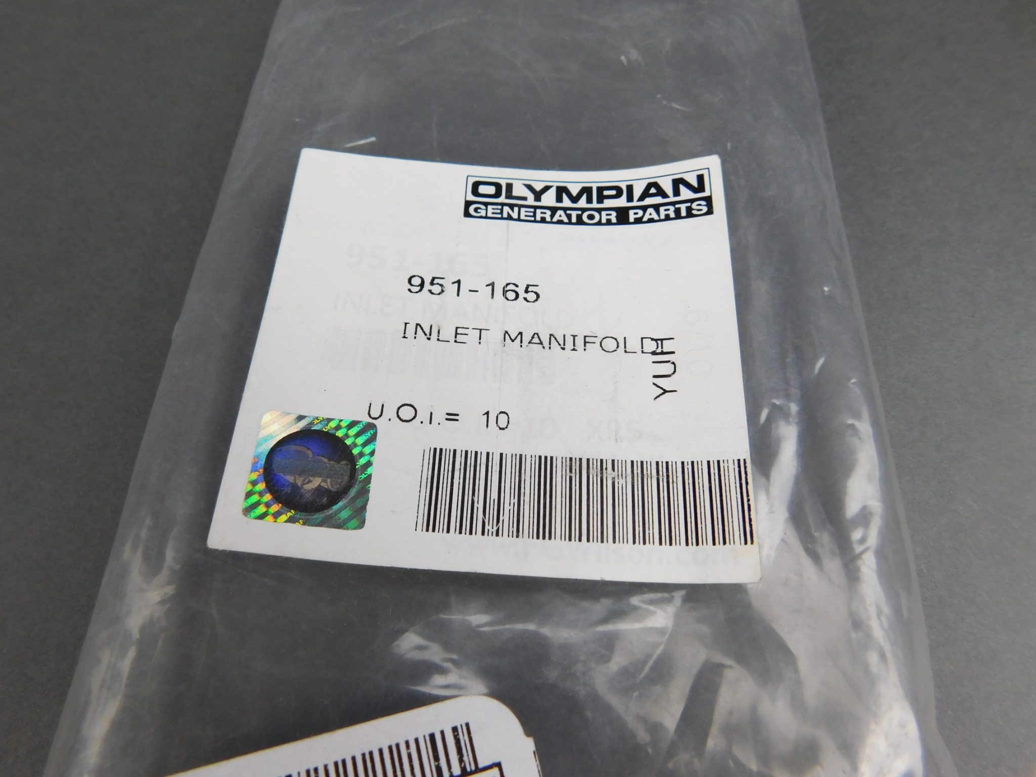 *Pack of 9* Olympian 951-165 Inlet Manifold Gaskets