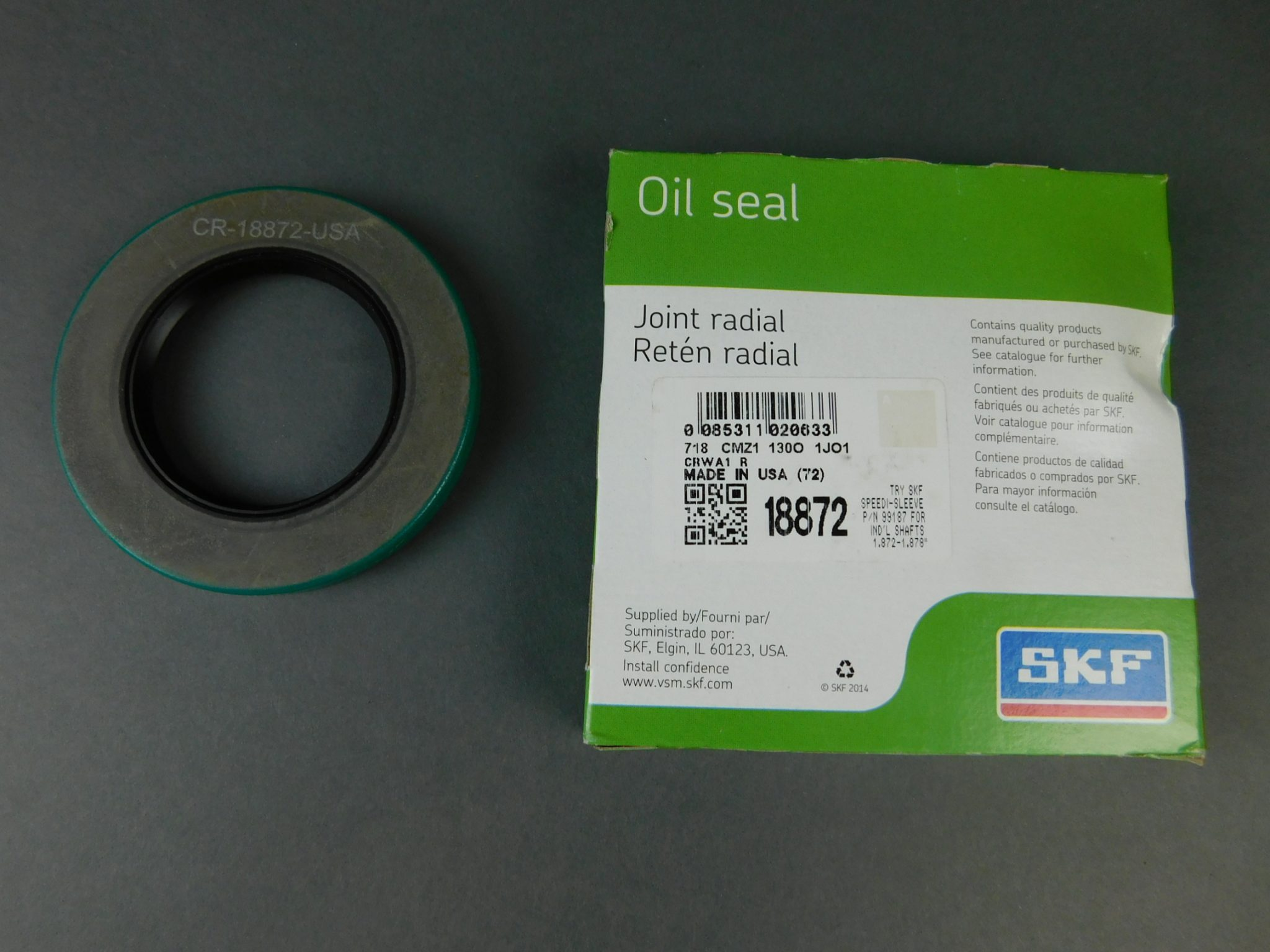 SKF 18872 Grease Seals