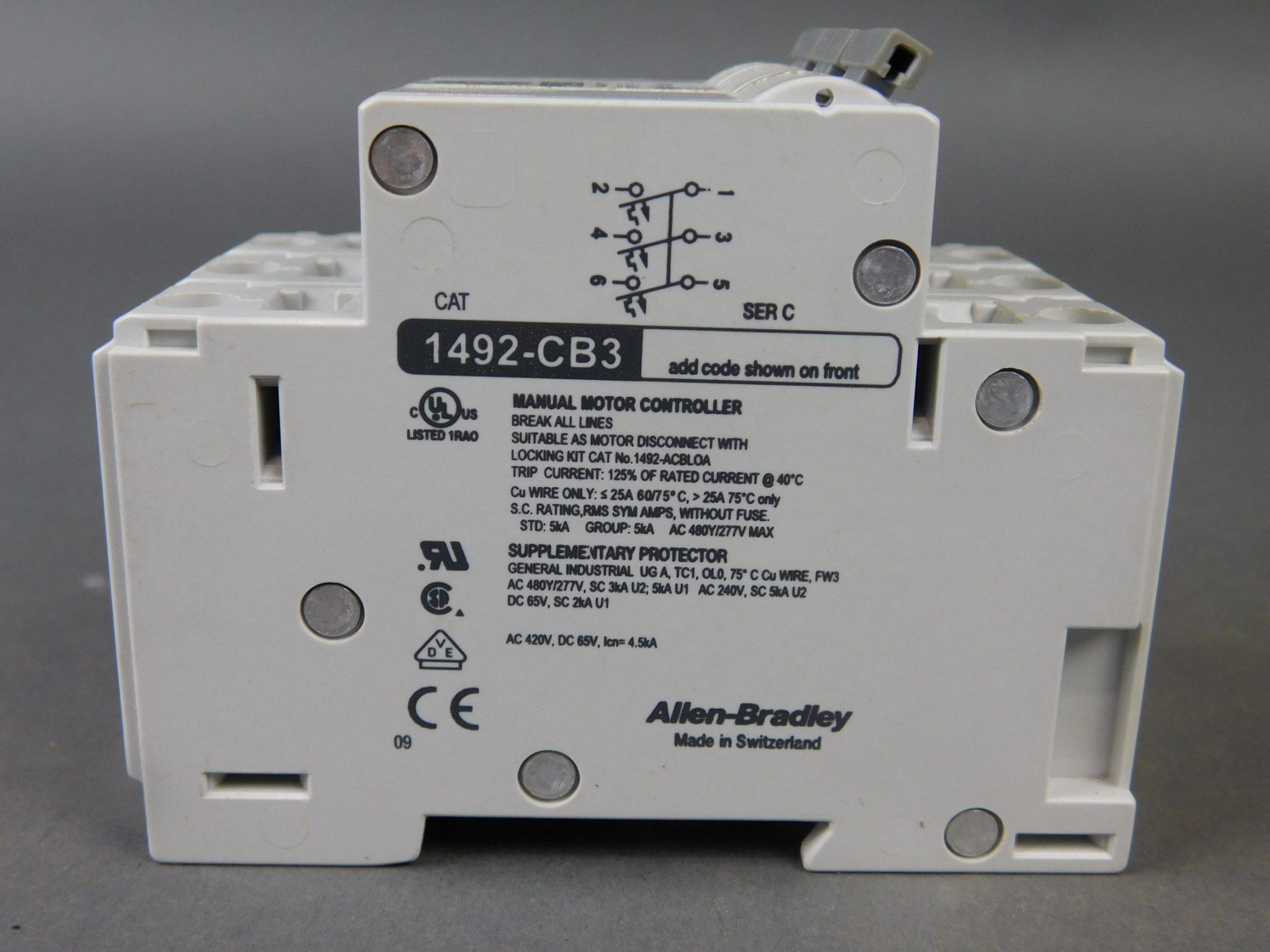 Ab Circuit Breaker Wiring Schematic on
