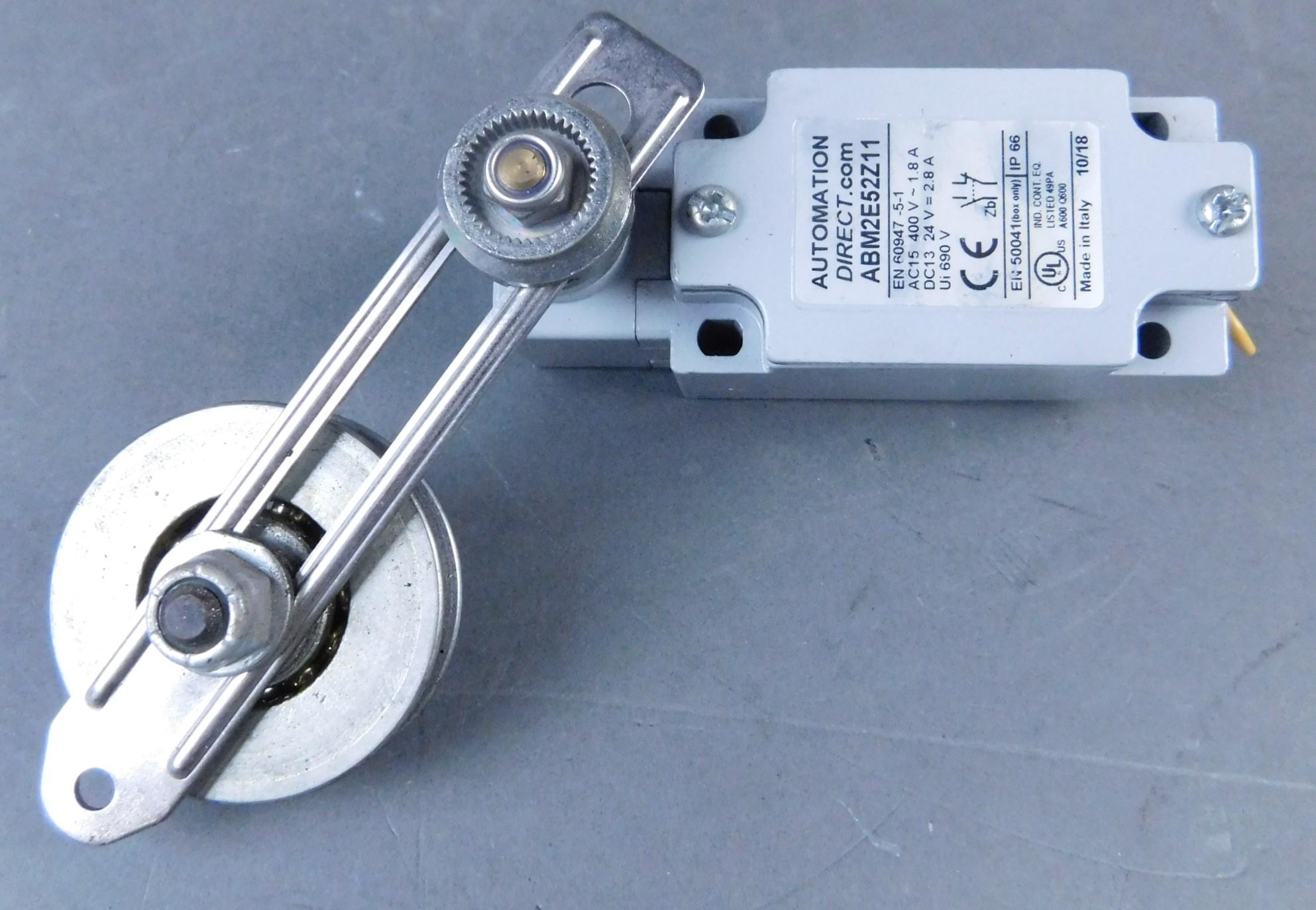 Automation Direct ABM2E52Z11 Limit Switch, 400V, 1 8A