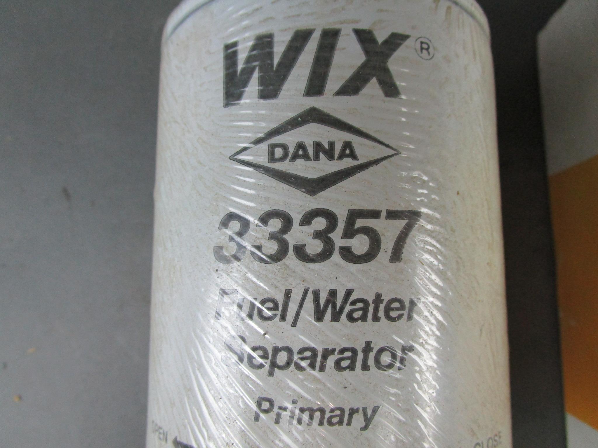 Wix Fuel Water Separator Filter P//N:33379