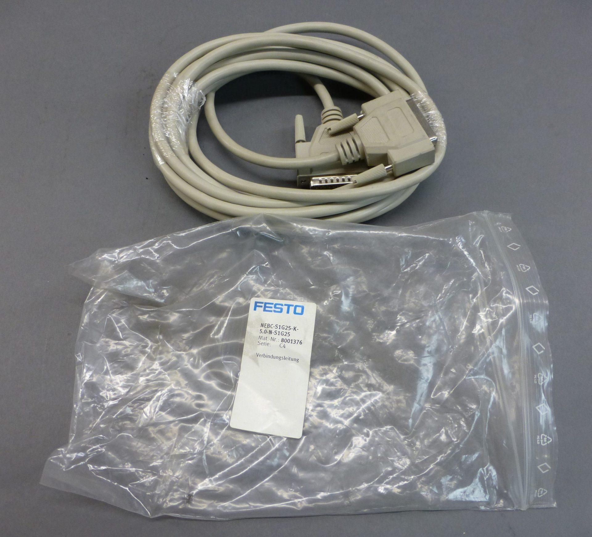 Festo NEBC-S1G25-K-5 0-N-S1G25 Cable, 8001376