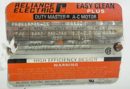 Iwaki Walchem F400AVG-E Used Pump Package ID Tag
