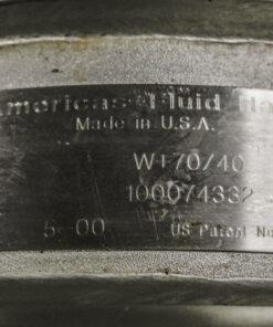 APV W+ Sanitary Centrifugal Pump Package ID Tag