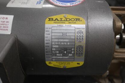 Price CD150 Bronze Pump Motor Tag