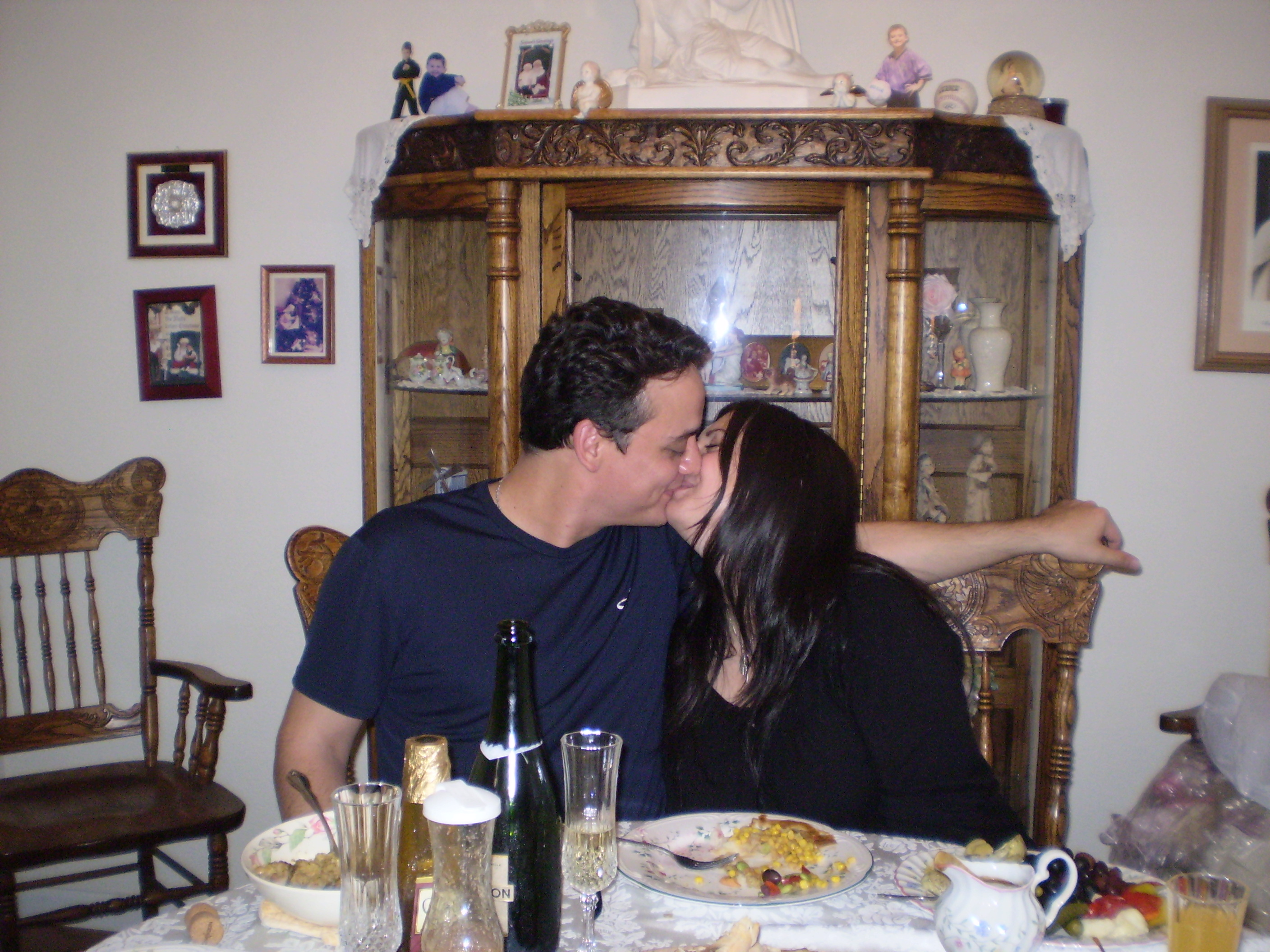 Our first Thanksgiving 2011.