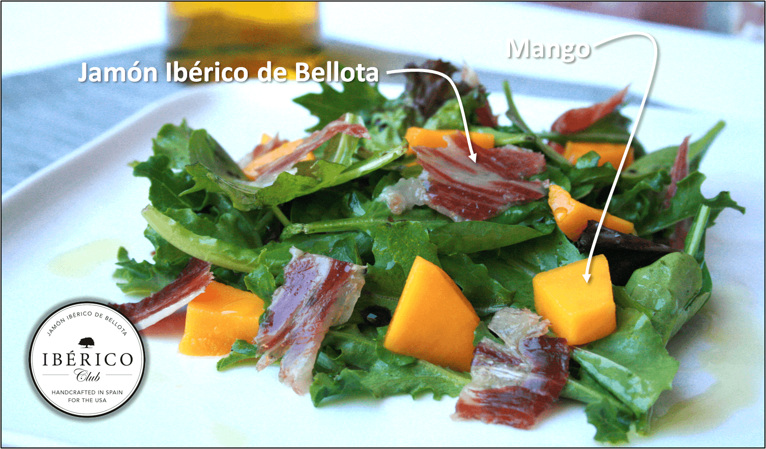 Jamon and Manchego Salad | Free Shipping | Iberico Club™