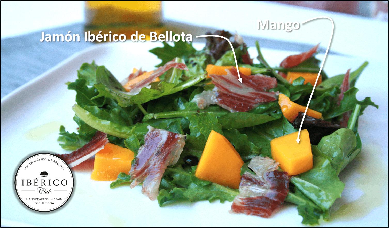 Jamon and Manchego Salad | Free Shipping | Iberico Club™