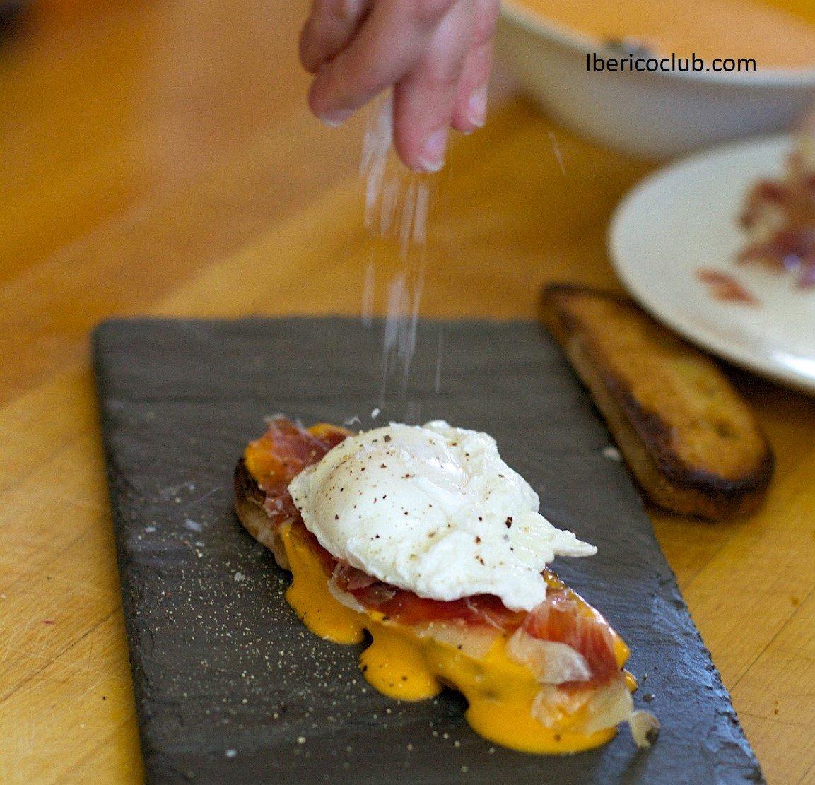 El Mejor Jamon Con Huevo Roto