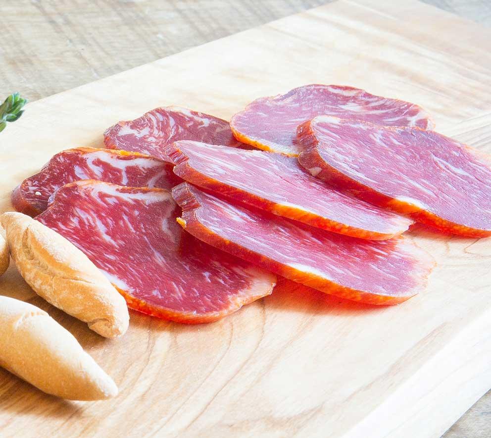 carne de lomo iberico de espana