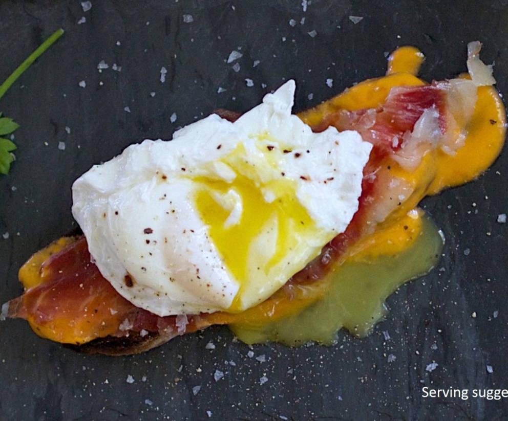 Huevos Estrellados con jamon | Free Shipping | Iberico Club™