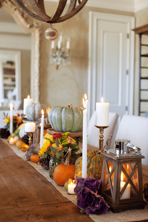 Thanksgiving tablescape | Inspiration for Thanksgiving Decoration