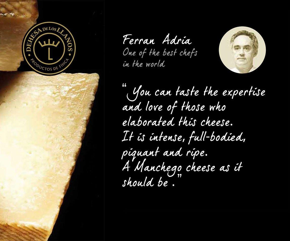 Ferran Adria Manchego | Free Shipping | Iberico Club™