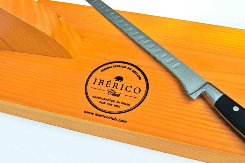 Jamon Iberico with stand & knife   Free Shipping   Iberico Club™