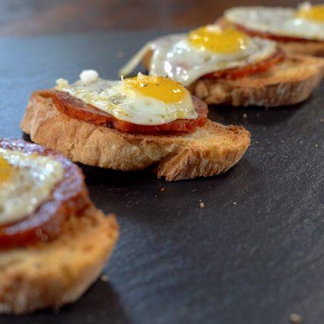 Chorizo & Quail Eggs Recipe