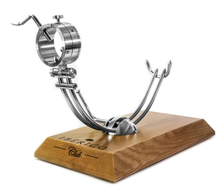 Stainless Steel Jamon ham holder | Free Shipping | Iberico Club™