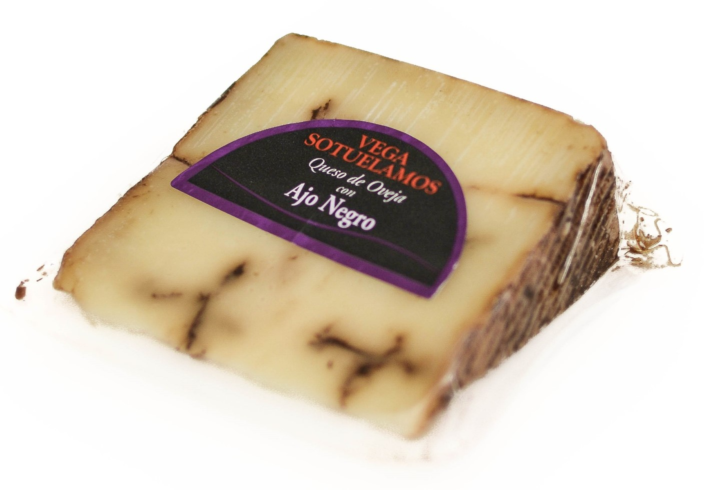 Vega Sotuelamos Queso de Oveja Ajo Negro Sheep Cheese