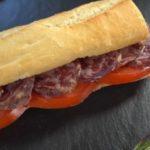 Slachichón Ibérico de Bellota sandwich