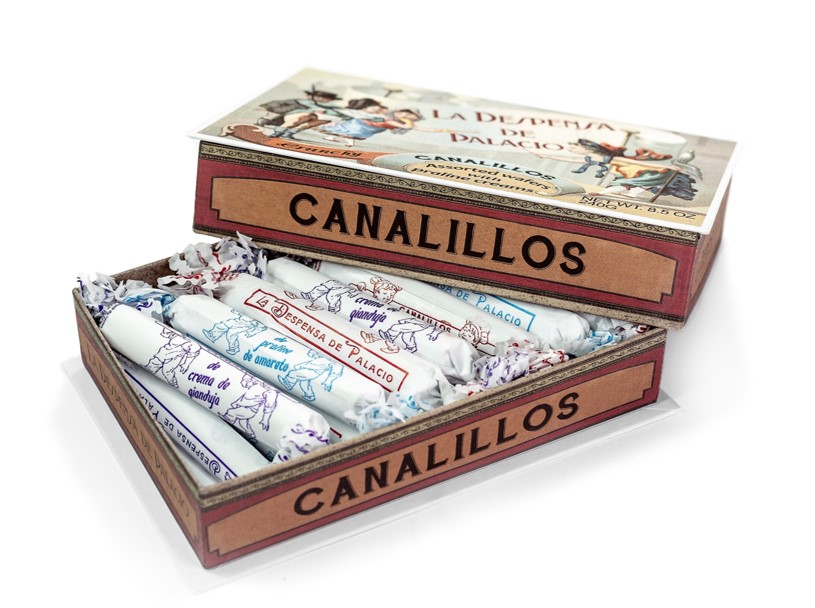 Canalillos | Assorted Chocolate Wafers