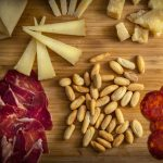 Spanish cheeses and picos camperos bread sticks
