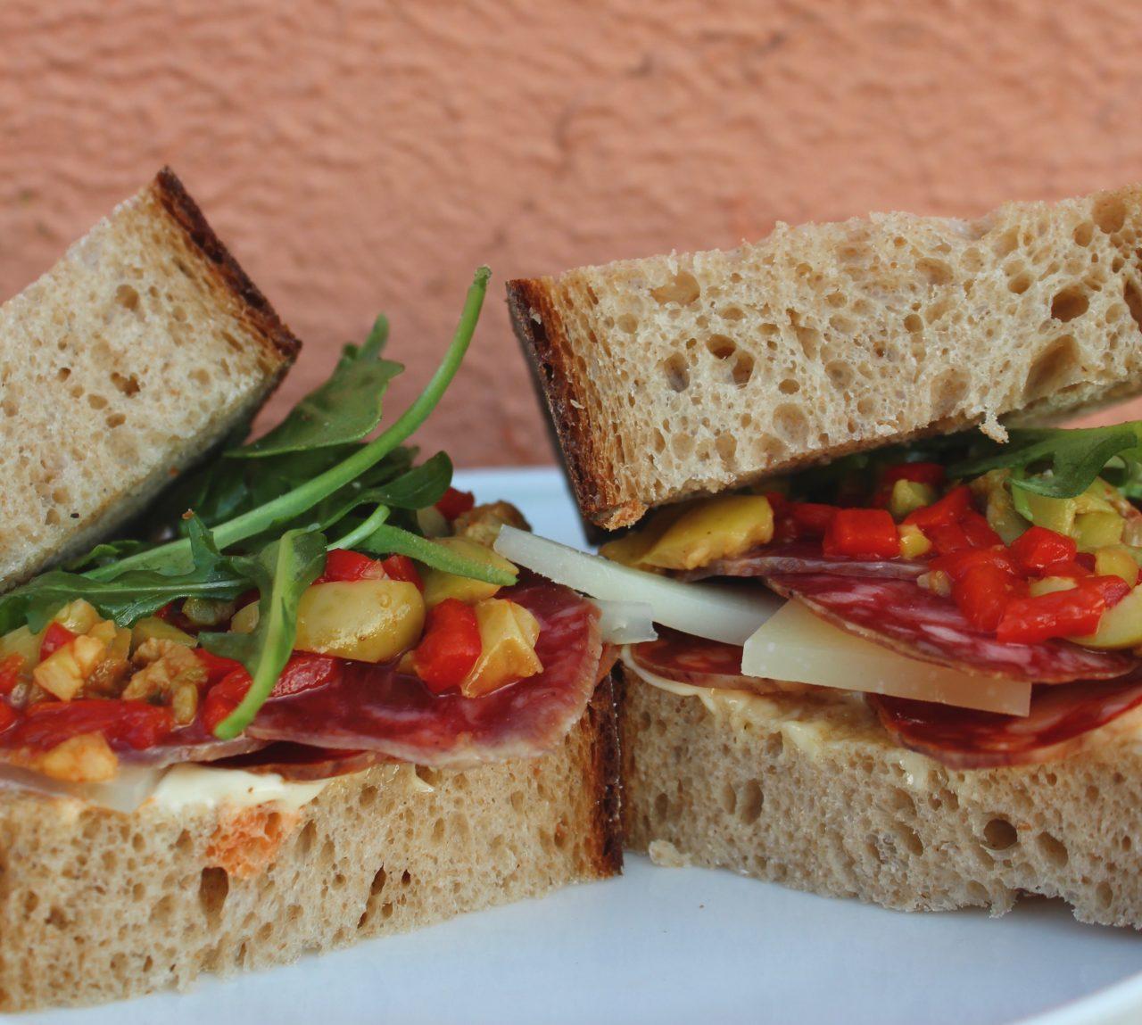 The Finest Iberian Sandwich   Sanduche de Jamon Iberico