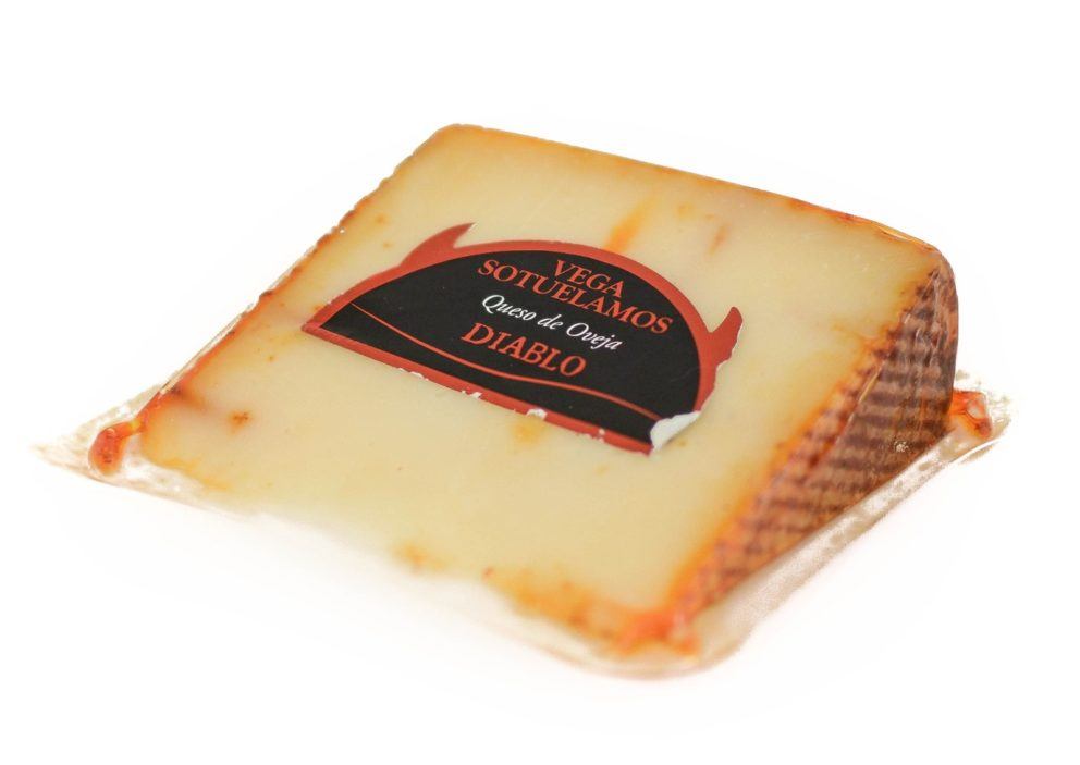 Vega Sotuelamos Paprika Cheese Diablo Sheep Cheese