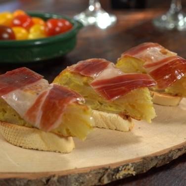 Spanish Tortilla with Jamón Ibérico