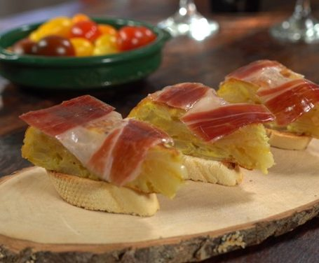 Spnish Tortilla with jamon Iberico Recipe