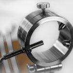 Stainless steel jamon holder