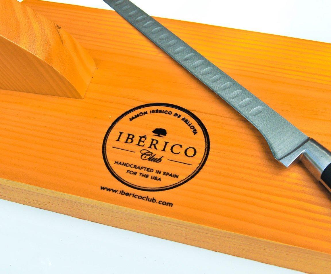 Jamon stand with Kinfe   Free Shipping   Iberico Club™
