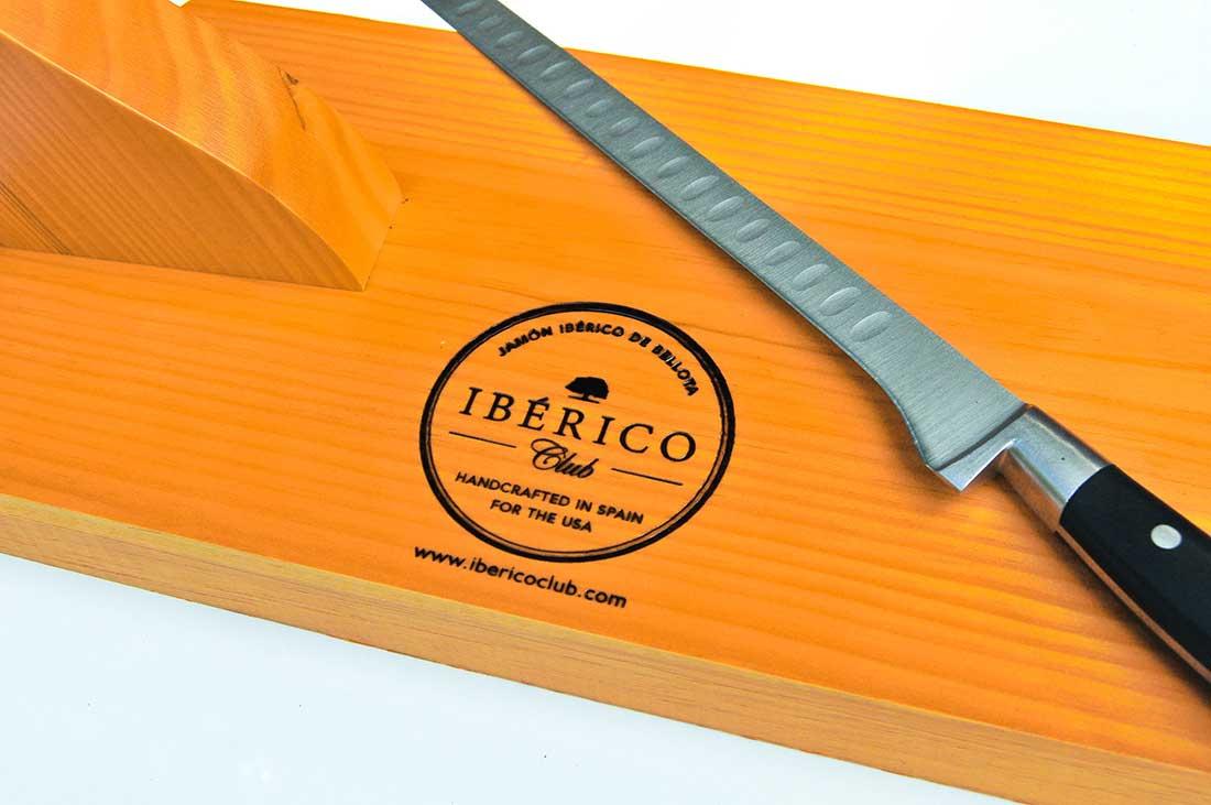 Jamon Iberico with stand & knife | Free Shipping | Iberico Club™