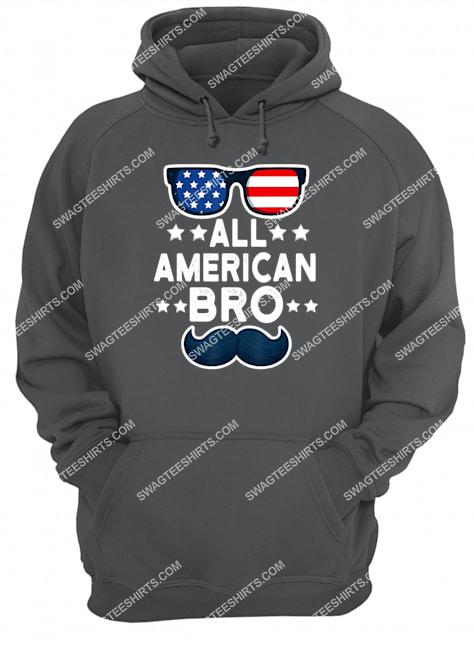 all american bro 4th of july boys kids sunglasses family hoodie 1