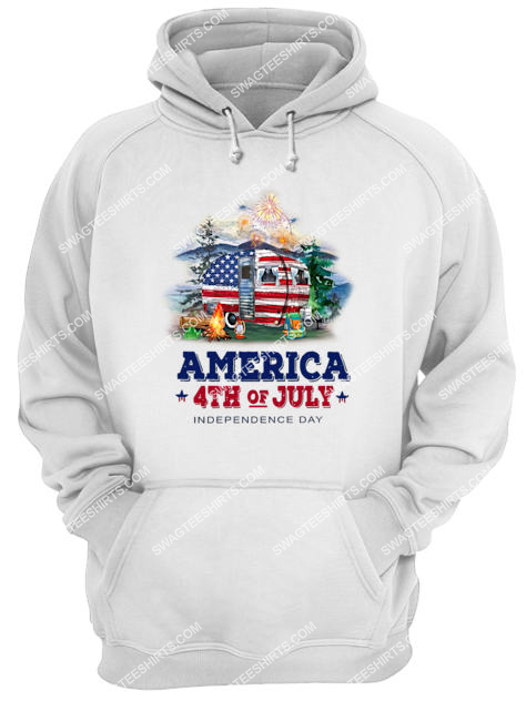 america 4th of july independence day for camping hoodie 1