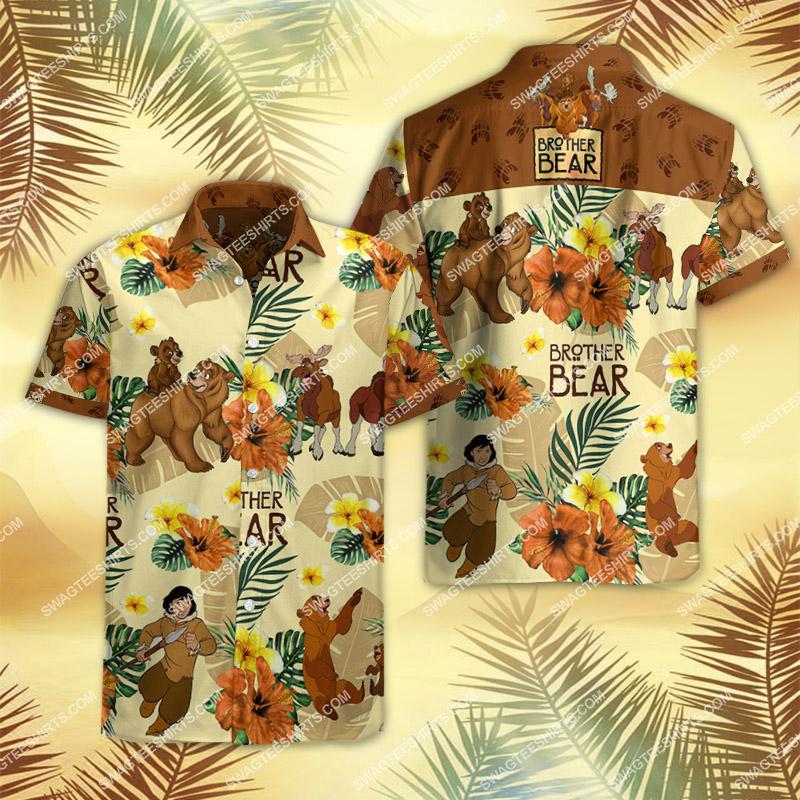 brother bear movie all over print hawaiian shirt 2