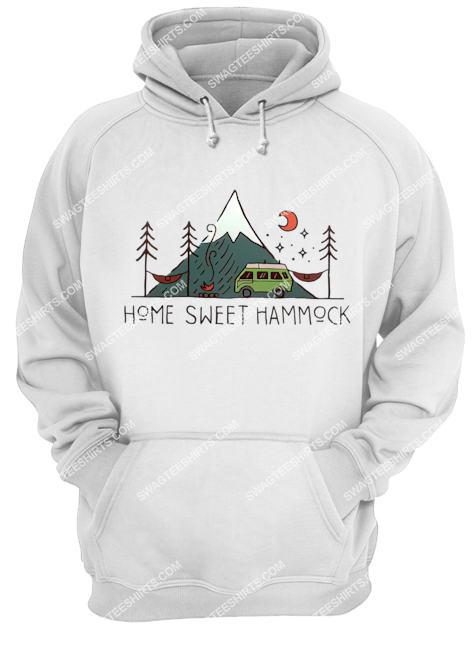 camping home sweet hammock for camper hoodie 1