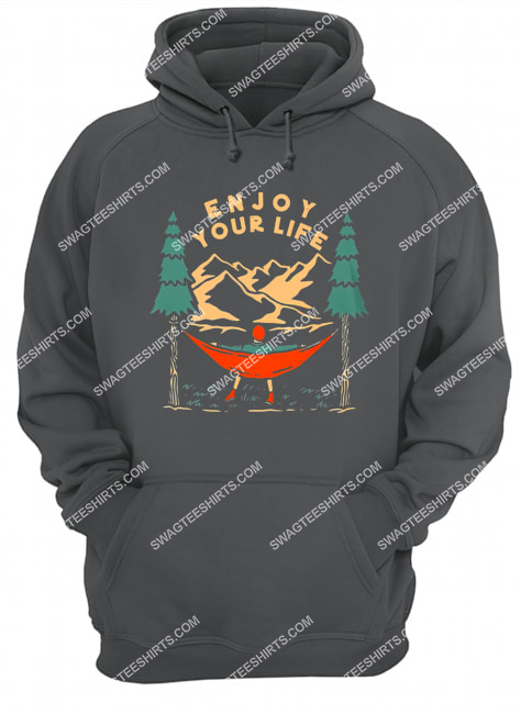 camping in the forest enjoy your life for camper hoodie 1