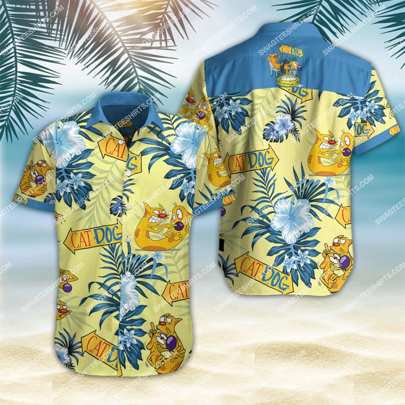 catdog movie all over print hawaiian shirt 2 - Copy