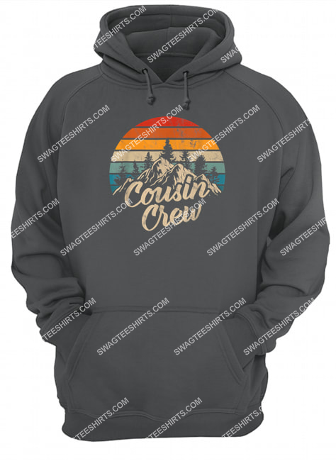 cousin crew camping outdoor sunset summer camp hoodie 1