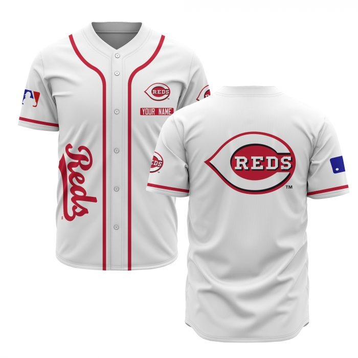 custom name cincinnati reds baseball shirt 1