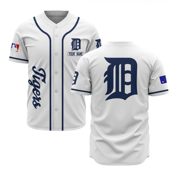 custom name detroit tigers baseball shirt 1