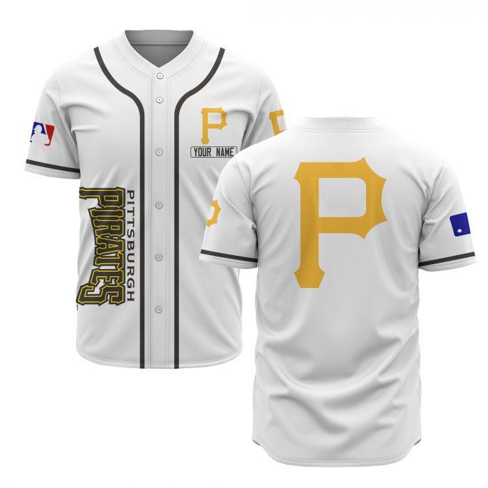 custom name pittsburgh pirates baseball shirt 1
