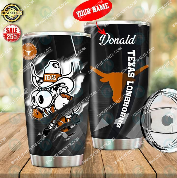 custom name texas longhorns football full printing tumbler 1(1)
