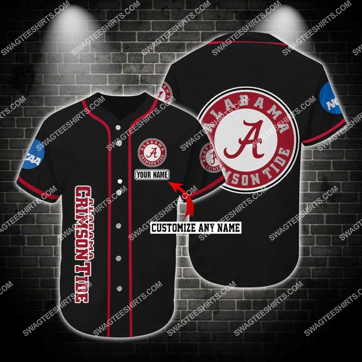 custom name the alabama crimson tide full printing baseball jersey 1(1)