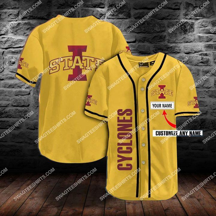 custom name the iowa state cyclones team full printing baseball jersey 1(1)