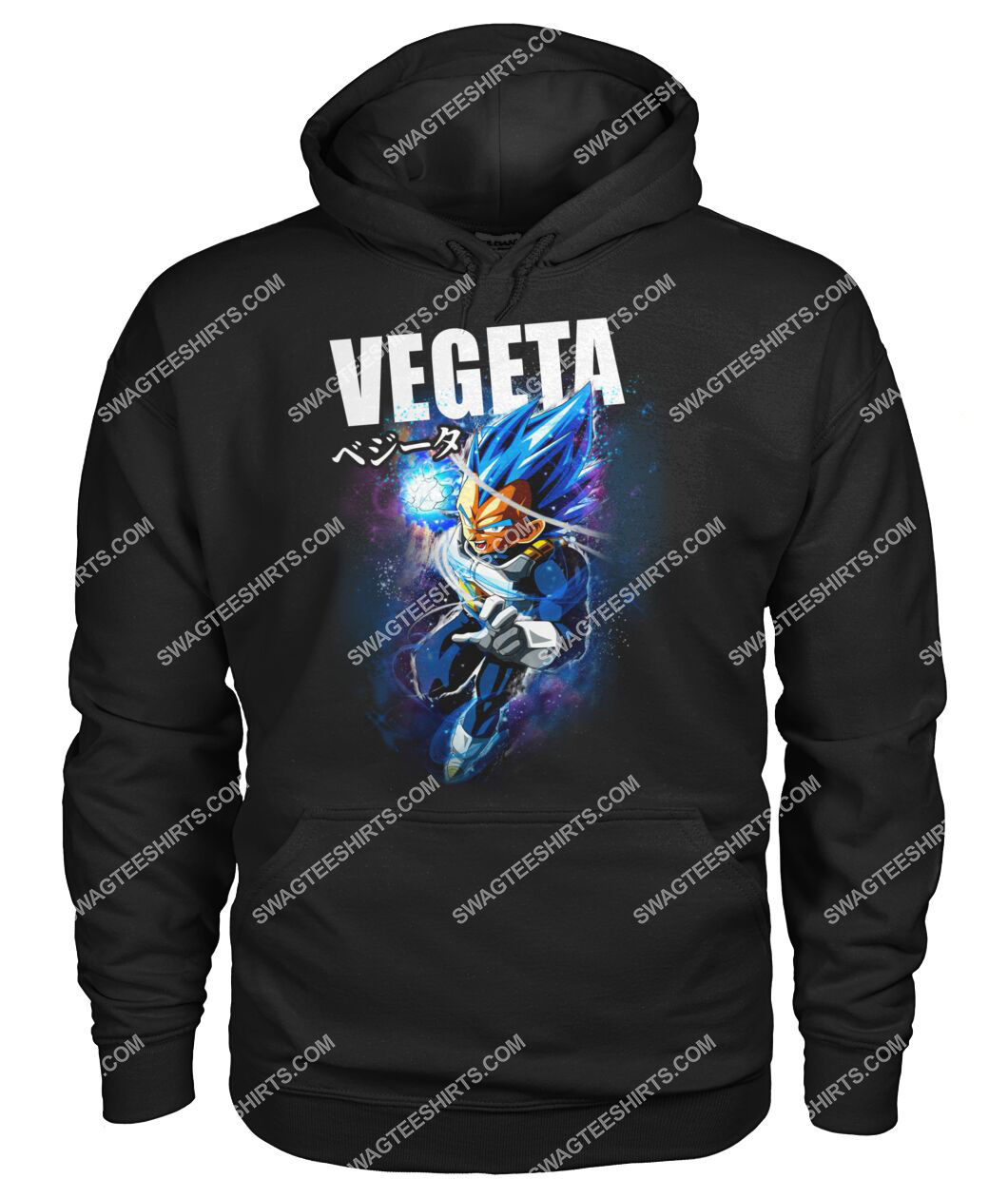 dragon ball z vegeta super saiyan hoodie 1