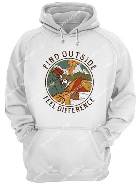 find outside feel difference for camping hoodie 1