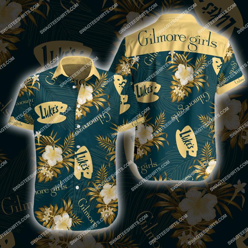 gilmore girls movie all over print hawaiian shirt 2